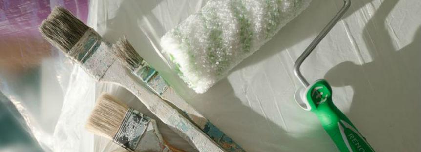 måla inomhus