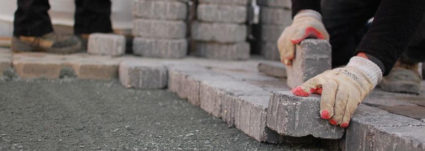 stenläggning och markarbeten