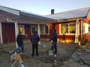 Före: Uterum för året runt i Stöcksjö