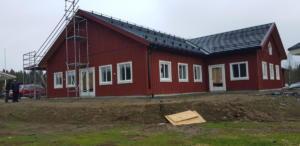 Före: altan Sörfors golfklubb