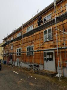 Före: Fasad och fönsterbyte Stenmarksvägen