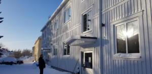 Efter:  Fasad och fönsterbyte Stenmarksvägen